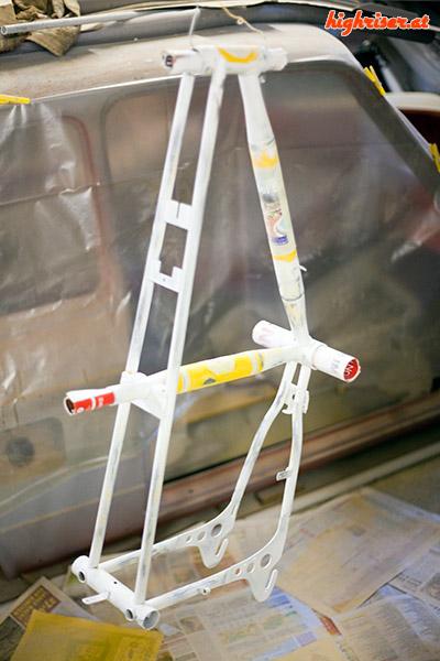 Junior Stratostreak 3 – Rahmen geschliffen