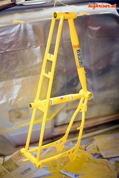 Junior Stratostreak 3 – Rahmen lackiert
