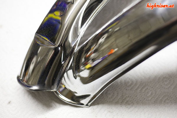 Mustang Bonanzarad - Schutzbleche mit Ducktail
