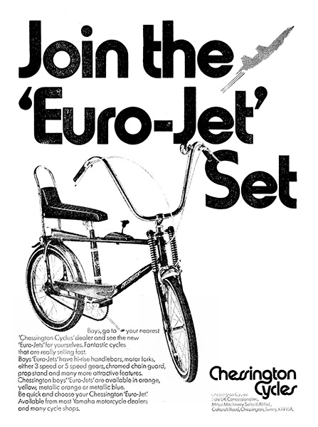 Chessington Cycles Euro-Jet
