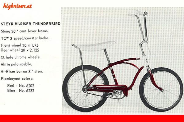 Steyr Hi-Riser Thunderbird