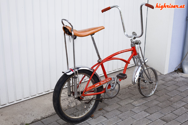Schwinn Sting-Ray Orange Krate Coaster Brake